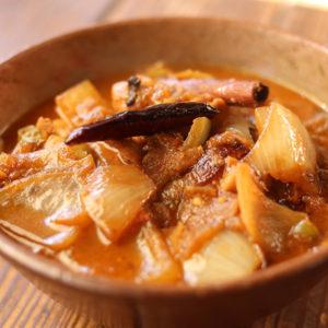 ダブルオニオンチキンカレー(ドピアザ)|王様のインドカレーの作り方|スパイス・レシピ