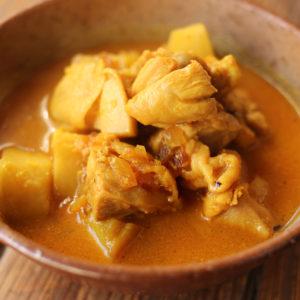 さつまいもチキンカレー |インドカレーの作り方|スパイス・レシピ