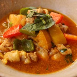 バジルチキンカレー |インドカレーの作り方|スパイス・レシピ