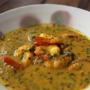 海老カレー|インドカレーの作り方|スパイス・レシピ