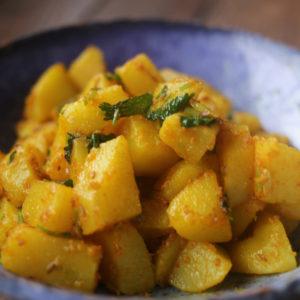 ポテトマサラ|インドカレーに合う一品|スパイス・レシピ