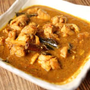 チェティナードチキンクルマカレー|インドカレーの作り方