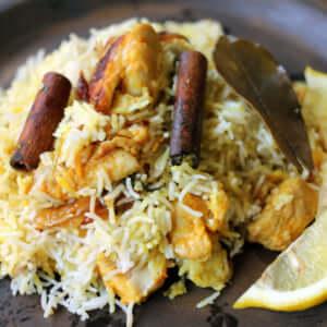 チキンビリヤニ|スパイス・レシピ