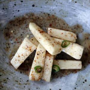 長芋のスパイス浅漬け風!長芋のアチャールのレシピ