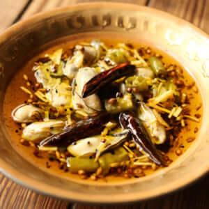 牡蠣のアチャール|スパイス・レシピ
