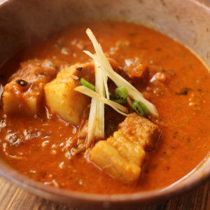 ジンジャーポークカレー|インドカレーの作り方|スパイス・レシピ