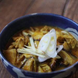 カレーうどん |インドカレーもびっくり|スパイス・レシピ